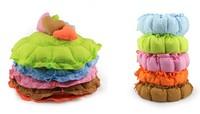 FREE SHIPPIING !pet nest kennel dog bed dog mat teddy drawstring round bottom cotton nest pumpkin mat general pet supplies