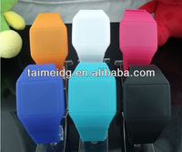2012 hot selling silicone touch screen led watch free shipping
