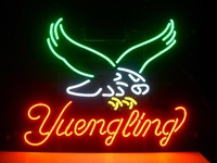 New Yuengling Eagle Real Glass Neon Light Sign Home Beer Bar Pub Club Sign Handcrafted Free Shipping 17*13