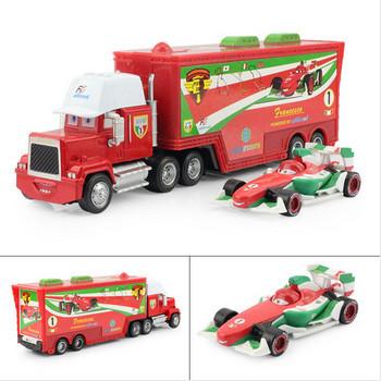 Free Shipping Only trucks Pixar Cars 2 alloy and plastic Francesco Bernoulli  toy car/plastic Mack truck toy