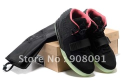 Air Yeezy 2 Rerto Kanye West Scales Cut Men&#39;s Basketball Shoes With Top Quality Free Shipping Via EMS(China (Mainland))
