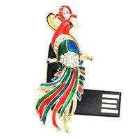 Free shipping Wholesale full capacity 2GB 4GB 8GB 16GB 32GB pheasant shape 2.0 Memory Stick USB Flash Drive, E1174