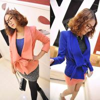 Ja  for rac e woolen large lapel outerwear three-color jw1828