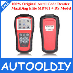 100% Original update via internet Autel Code Reader Maxidiag Elite MD701 for 4 system Diagnostic Tool(China (Mainland))