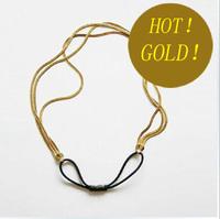 2014 new design women's gold color Headband,good quality fashion metal hair band chian 4 models