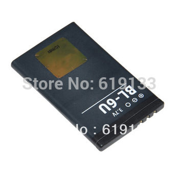 1000mah Mobile phone akku accu batteria batterie BL-6U battery For Nokia 8820 8820E 8830E free shipping