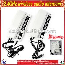 Free shipping 2.4GHz wireless audio intercom(China (Mainland))