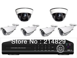Dropshipping--8CH DIY CCTV Camera Observation System of 25M IR Distance for Company and Factory(China (Mainland))