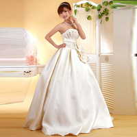 Flower circle 2012 princess wedding dress physical wedding y1274