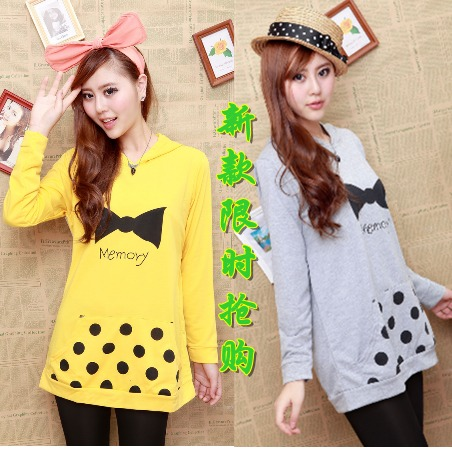 2012 maternity sweatshirt nice fashion winter top comfortable clothes yunfuzhuang(China (Mainland))