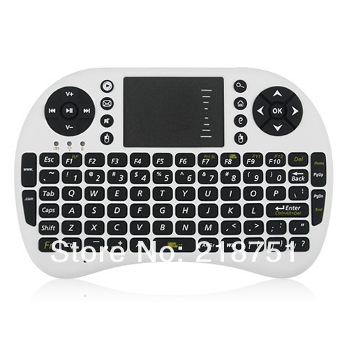 Free shipping mini keyboard and mouse with touchpad Perfect for PC, Pad, Andriod TV Box, Google TV Box