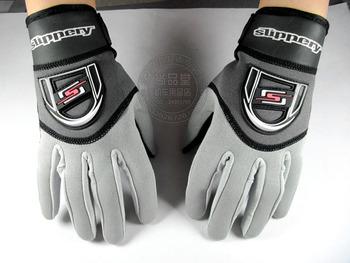 Slippery motorboat gloves grey Women