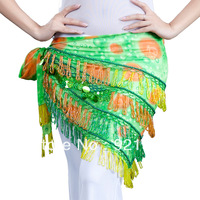 LIGHTNING-FAST DELIVERY-BIG SALE Apple Green Egypt Belly Dance Wrap & Hip Scarf, Lively Style by Babytree