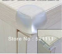 Wholesale 10pcs Corner Guards Transparent silicone Prevent your baby from Knocking on Corner Free Shipping Nb0021