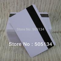 Free Shipping Blank PVC Hico Magnetic Mag Stripe Printable Inkjet Card For Inkjet Printer 200pcs/lot