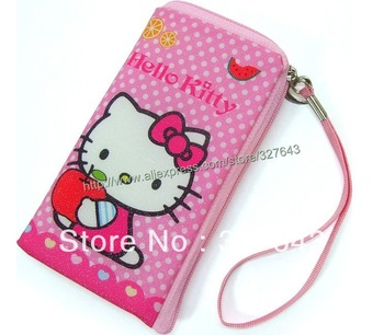 Hello Kitty casual mobile phone bag