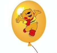 Professional Customized 10''Natural Latex Advertisement Balloons /Children Best Gift/Party Must-have Color Red.Yellow.Orange...