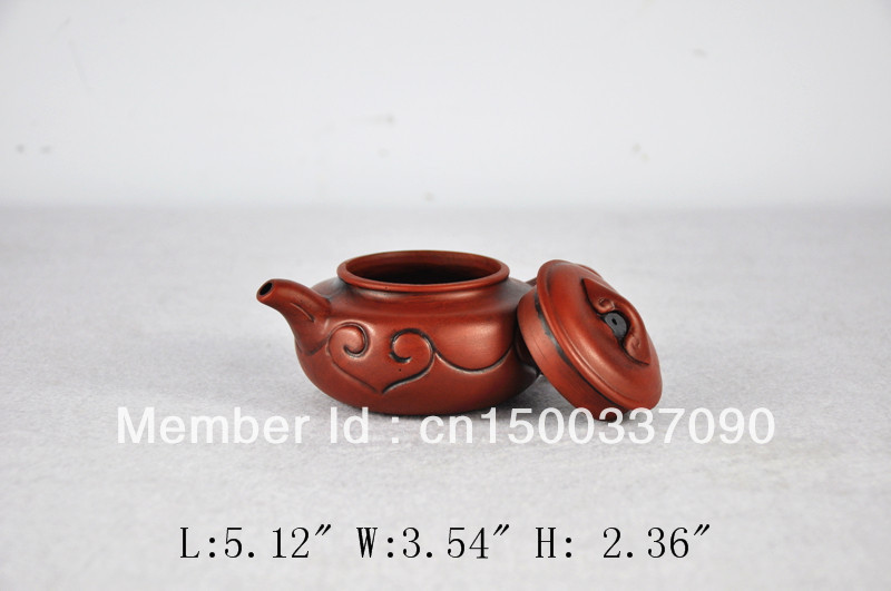 Promotion! Free Shipping Red Dual Dragons Purple Grit Tea Pot Chinese Purple Clay Teapot Gifts Ideal(China (Mainland))