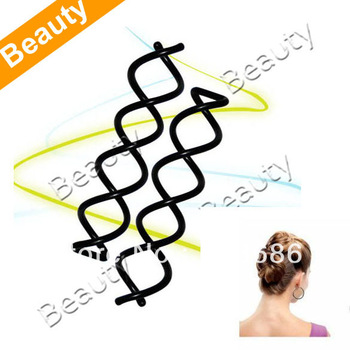 New 2 pcs Spiral Screw Hair Pin Curly Twist Barrette  4946