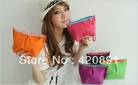 Free Shipping 2013 New Fashion Women Cosmetic Bag/Lady's Makeup Case/Bag/Coin Purse