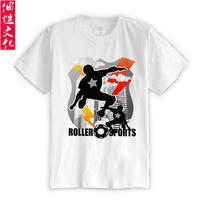 Original design summer seba roller jersey short-sleeve T-shirt clothes clothing male basic shirt
