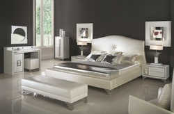 Italian design bedroom furniture bed wadrobe nighstand modern home furniture J001(China (Mainland))