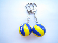 Mikasa volleyball mva series key chain
