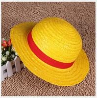 cosplay anime Monkey D Luffy onepiece Straw hat