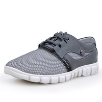 [Factory outlets] a generation of fat! Fashion casual shoes breathable mesh shoes popular men's shoes to help low shoes