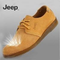 Factory Outlets Men Hollow Genuine Men's Men's Casual Shoes And Sandals Breathable Shoes