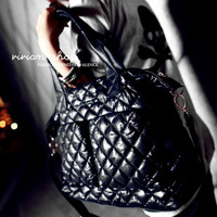 2013space cotton bag big bag down bag one shoulder cross-body  female bags