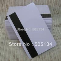 Wholesale Bulk Blank PVC Hico Magnetic Mag Stripe Printable Inkjet Card For Inkjet Printer 200pcs/lot