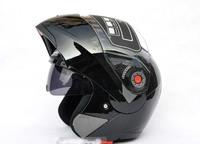 Best price JIEKAI quality goods electric motorcycle helmet qiu dong QuanKui upscale double lens strip surface