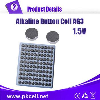 Free Shippimg button cell battery,1.5v AG3 392A SR41SW LR736 392 SR736 Alkaline Cell Button Coin Battery 1000pcs/lot,