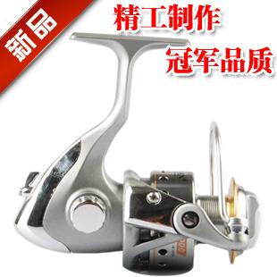 Ultralarge metal line capacity tc-2000 lure spinning wheel fishing reels