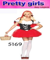 Sexy Riding Hood,  sexy maid costume with the Red Turban