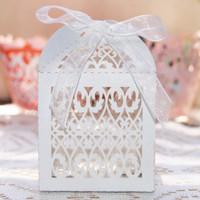 GAGA ! free shipping LASER CUT packing box  6*6*9(cm) , wedding favour boxes, 250 pcs/lot ,  BY13