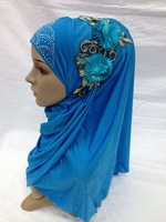 (free shipping)new muslim hijab muslim shawl ,muslim scarf ,12 mixed colors ,factory price
