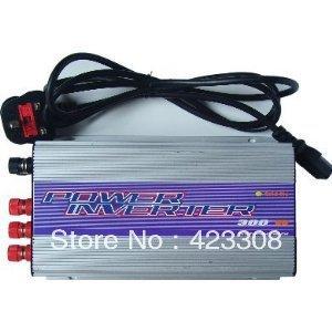 300W wind  grid tie inverter pure sine wave 10.8 - 30VDC/22 - 60VDC input, 90 - 130VAC/190 - 260VAC Output