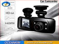 New NTK solution  1920*1080P Car Dvr Camera , Black Box , Recorder GS8000L Freeshipping