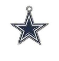 Free shipping 10pcs single-sided Dallas Cowboys charm pendant(H103949)