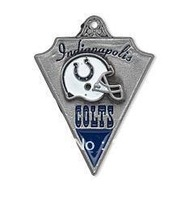 Free shipping 10pcs single-sided Indianapolis Colts sport pendant(H103958)