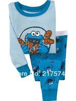 Child Cartoon Pajama Set 7193 In stock Children Cartoon Long Sleeve Pajama Retai Baby Sleeppants +long sleeve Underwears sets