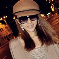 New Arrival Ladies Elegent Fashion Polarized Sunglasses Pane Eyeglass C010 free shipping Wholesale 5pcs/lot