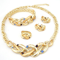 2013 new design jewelry free shipping DHL 24K african gold jewelry sets color guranteed high quality jewery set