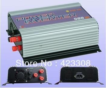 wind grid tie inverter 600W  pure sine wave 10.8 - 30VDC/22 - 60VDC input, 90 - 130VAC/190 - 260VAC Output