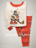 Child Cartoon Pajama Set 7197 In stock Children Cartoon Long Sleeve Pajama Retai Baby Sleeppants +long sleeve Underwears sets