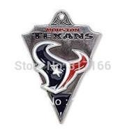 Free shipping 10pcs single-sided Houston Texans charm pendant(H103963)
