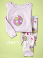Child Cartoon Pajama Set 7250 In stock Children Cartoon Long Sleeve Pajama Retai Baby Sleeppants +long sleeve Underwears sets
