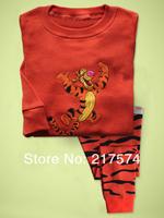 Child Cartoon Pajama Set 7260 In stock Children Cartoon Long Sleeve Pajama Retai Baby Sleeppants +long sleeve Underwears sets